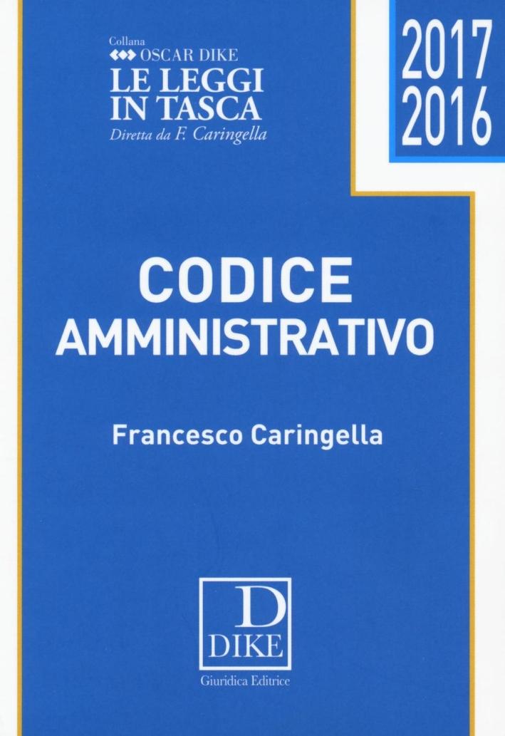 Codice amministrativo pocket 2016.
