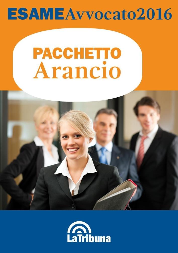 Esame avvocato 2016. Ediz. arancio