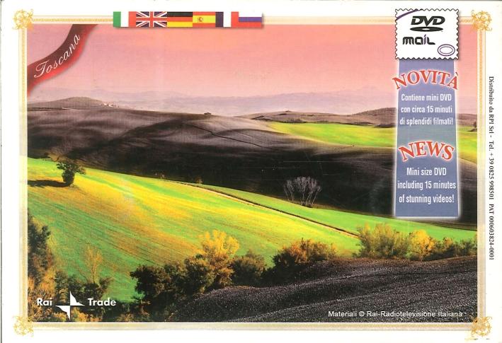 Toscana Mini DVD. Mini Size DVD