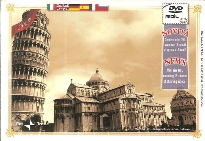 Pisa Mini DVD. Mini Size DVD.