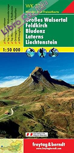 Groáes Walsertal Feldkirch Bludenz Later 1:50.000