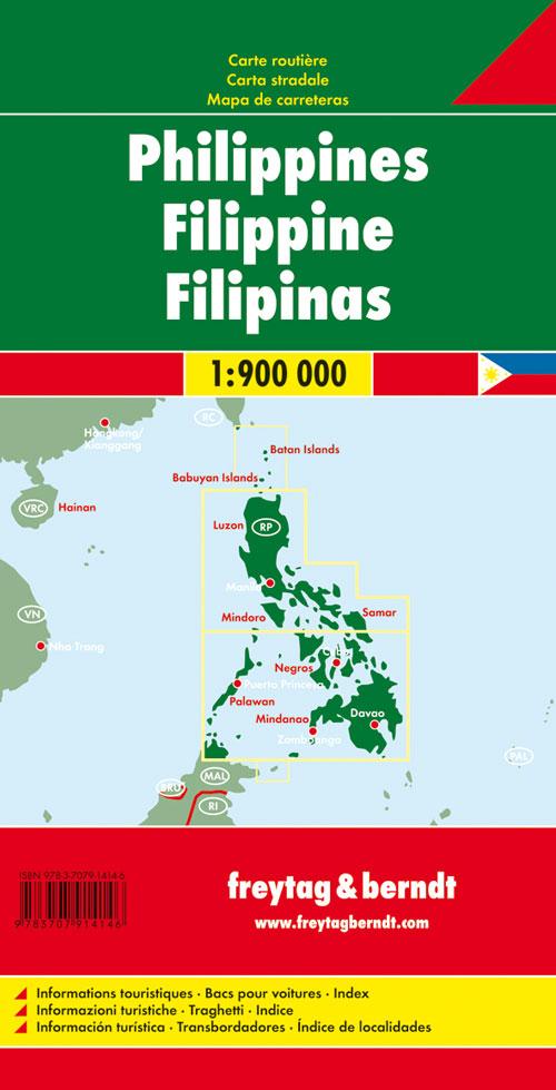 Filippine 1:900.000
