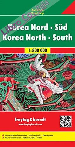 Corea 1:8.000.000