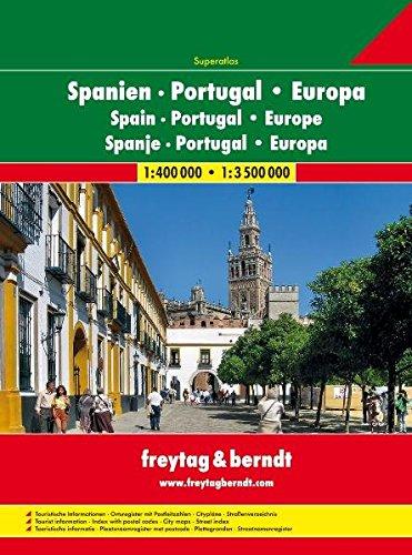 Spain Portugal 1:400.000 1:3.500.000.