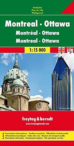 Ottawa Montreal 1:15.000.