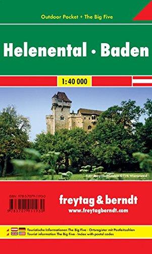 Helenental, Baden 1:40.000.