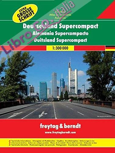 Germany supercompact 1:300.000