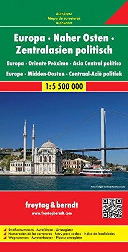 Europa centro oriental 1:5 500.000.