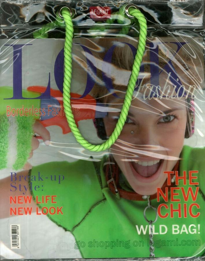 Shopping Bag in Platica - Look Fashion Cm 30x37.