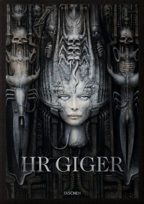 HR Giger. Ediz. inglese, francese e tedesca