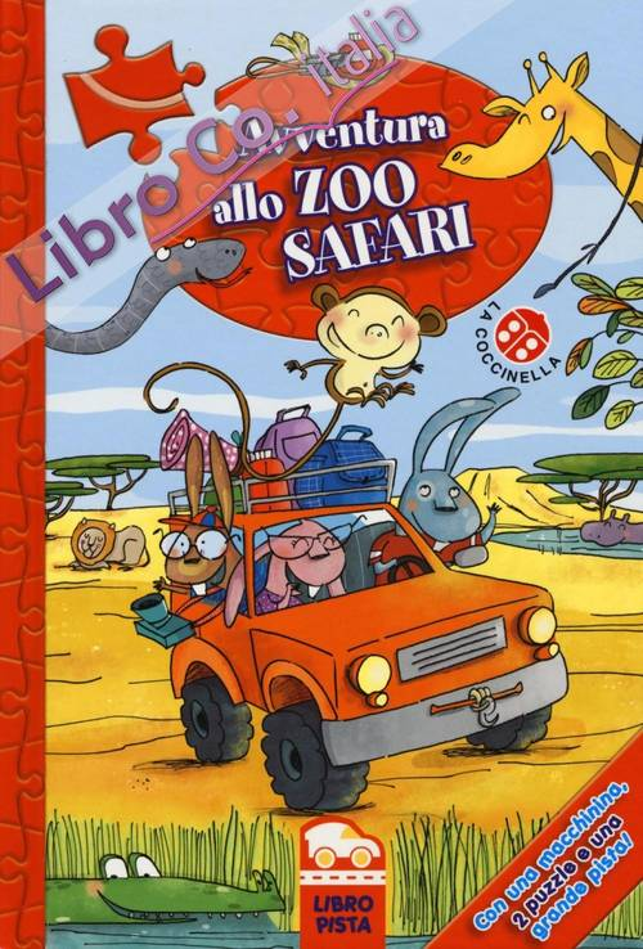 Avventura allo zoo safari. Con gadget.