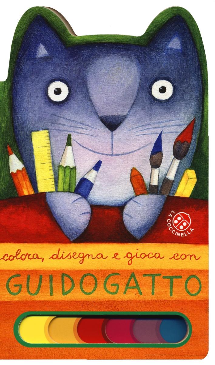 Colora, disegna e gioca con Guido Gatto.