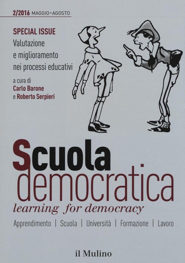 Scuola democratica. Learning for democracy (2016). Vol. 2: Maggio-Agosto