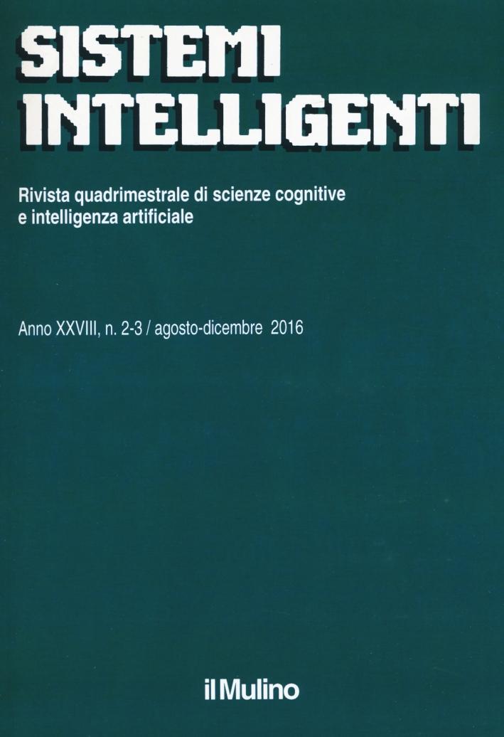 Sistemi intelligenti (2016). Vol. 2-3