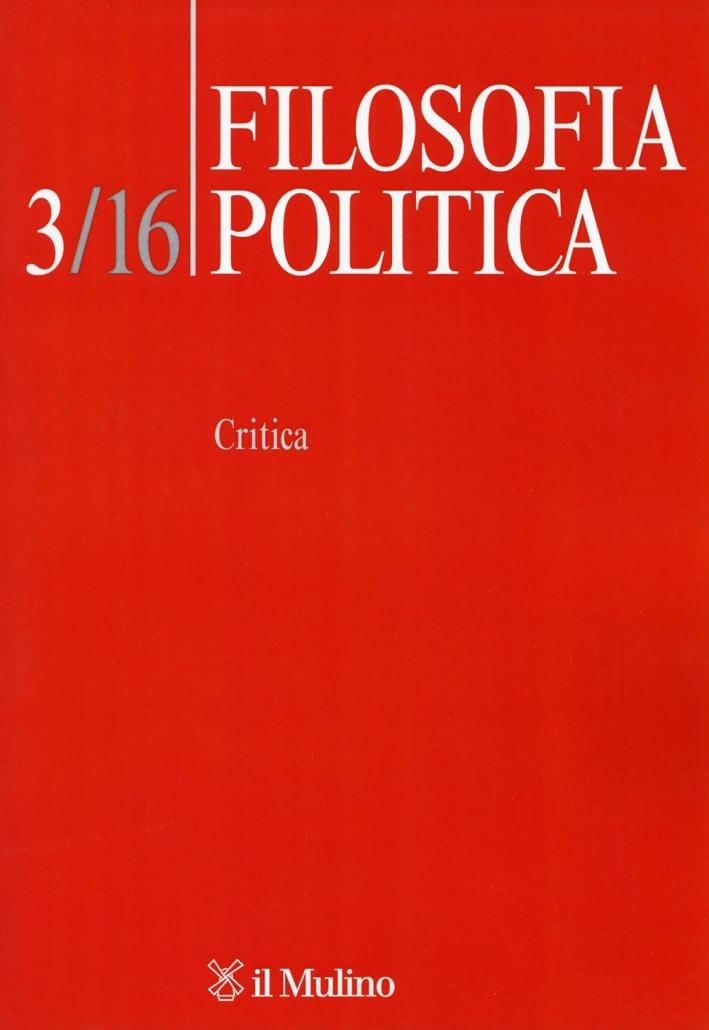 Filosofia politica (2016). Vol. 3: Critica
