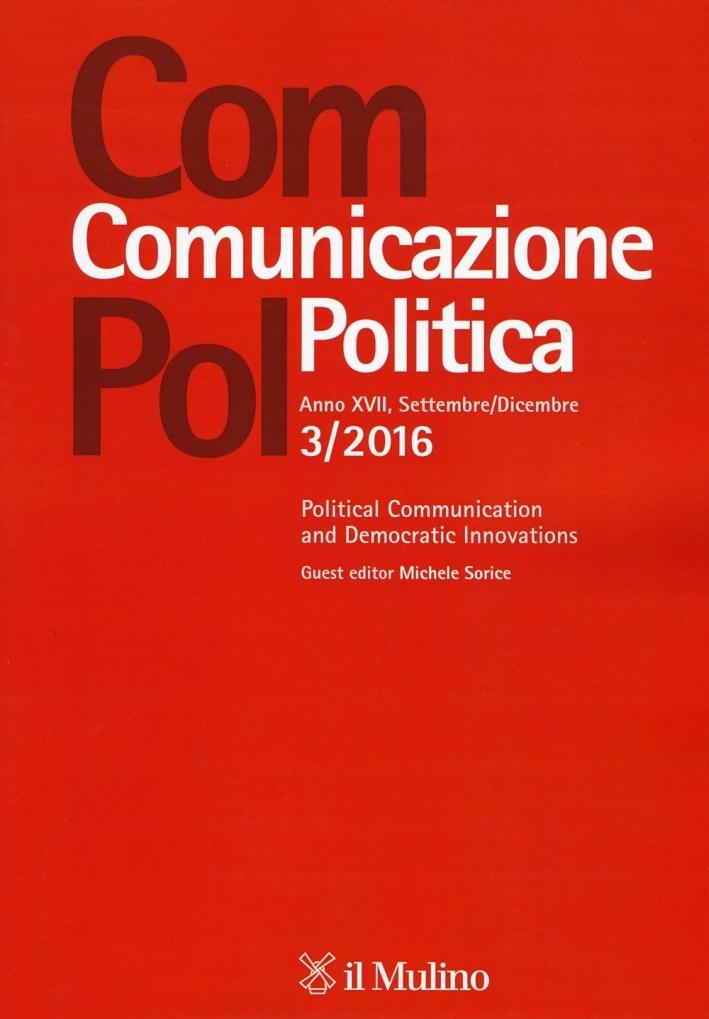Com.pol. Comunicazione politica (2016). Vol. 3