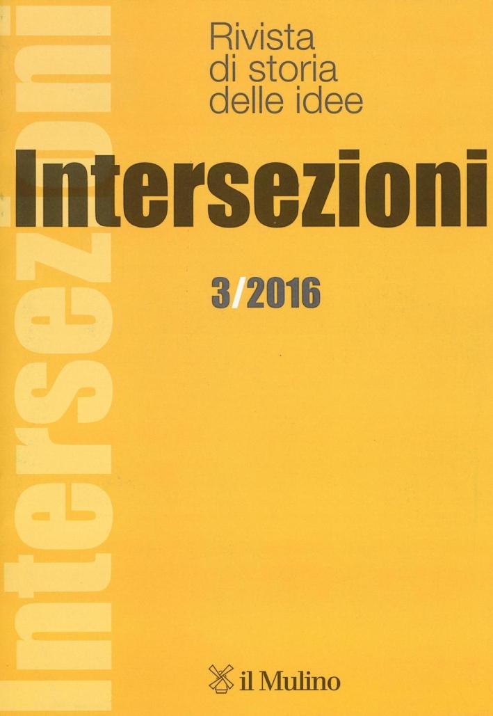 Intersezioni (2016). Vol. 3.
