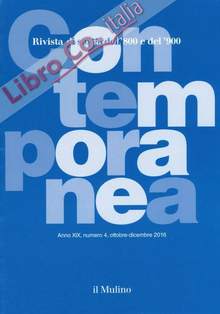 Contemporanea (2016). Vol. 4