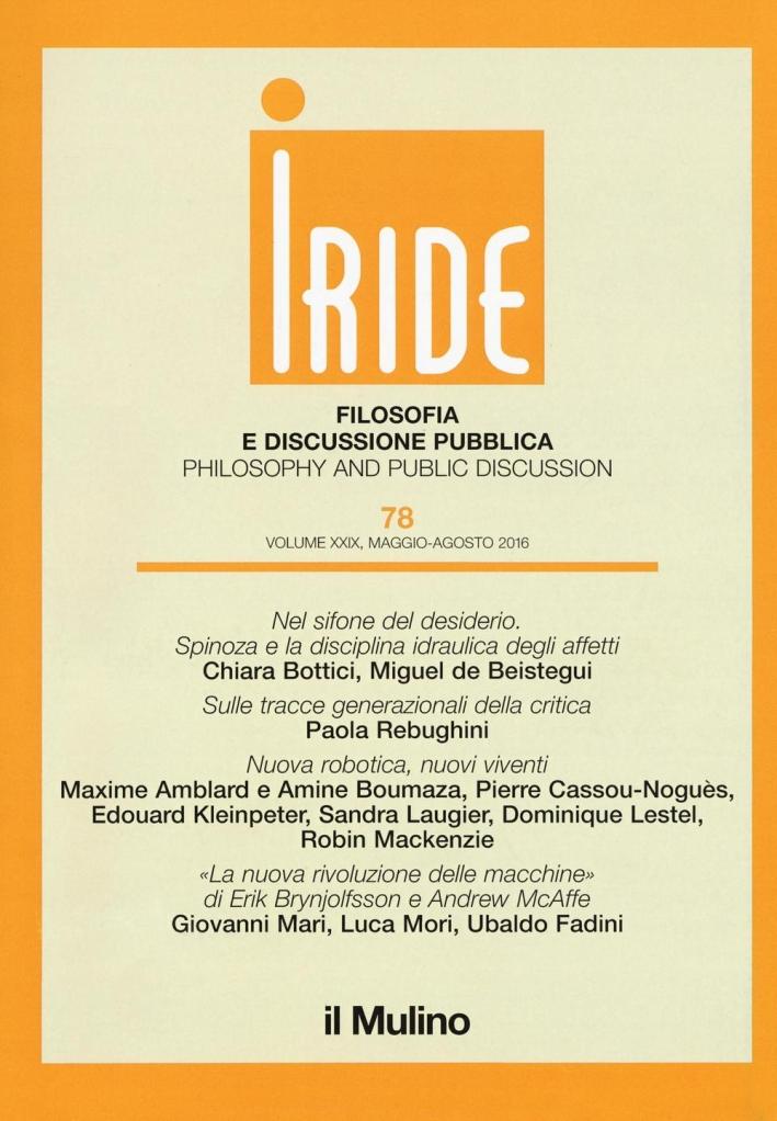 Iride (2016). Vol. 2.