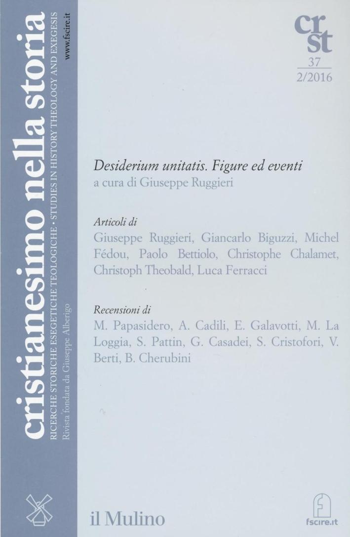 Cristianesimo nella storia (2016). Vol. 2.