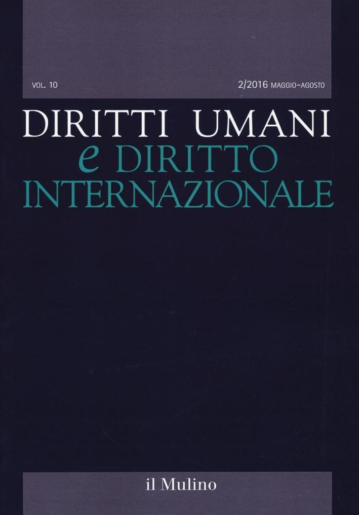 Diritti umani e diritto internazionale (2016). Vol. 2.