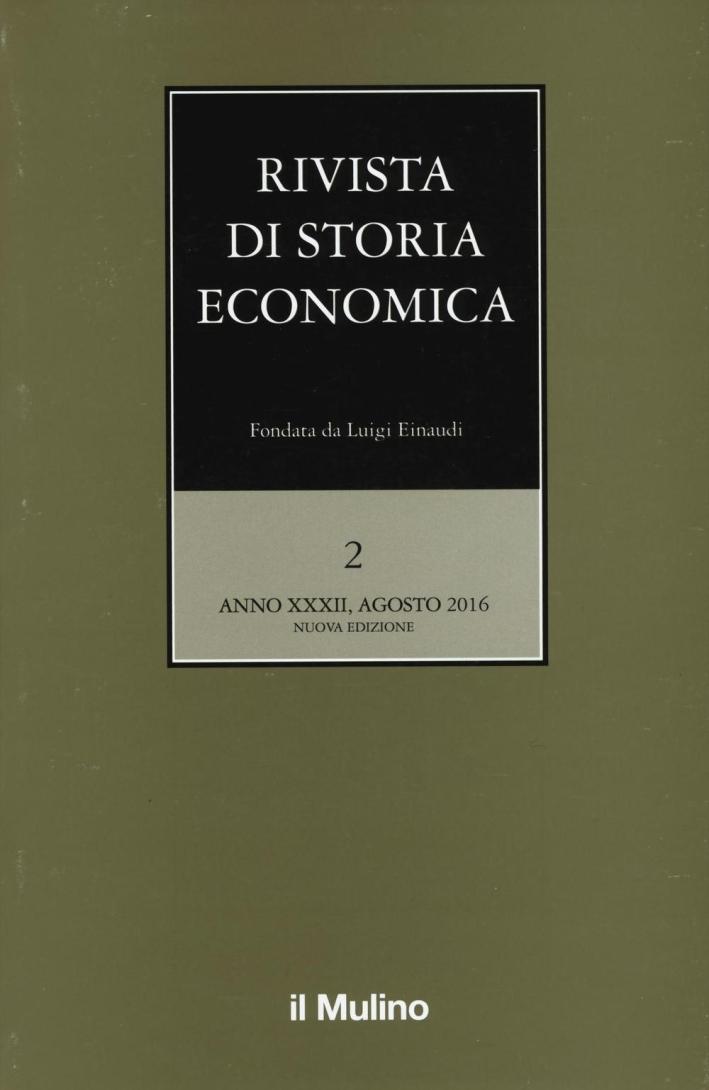Rivista di storia economica (2016). Vol. 2.