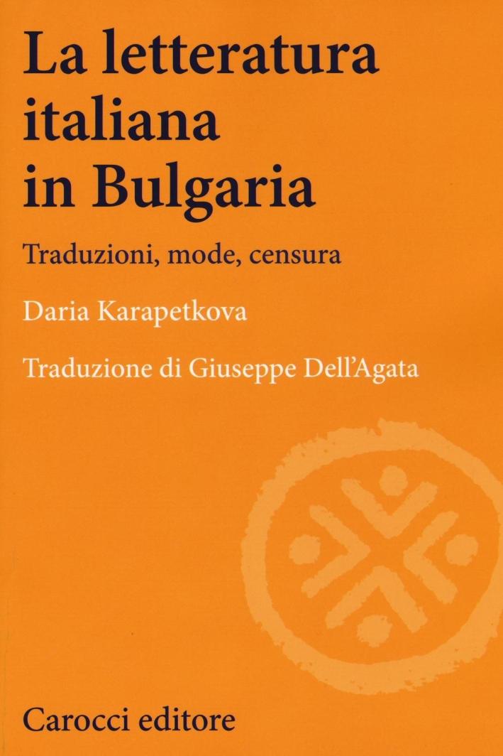 La letteratura italiana.