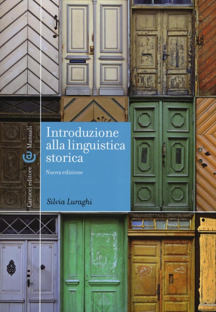 Introduzione alla linguistica.