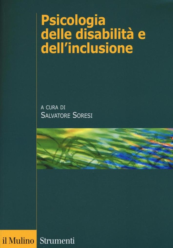 Psicologia delle disabilità dell'inclusione.