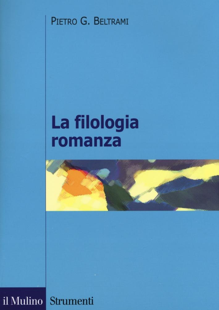La filologia romanza.