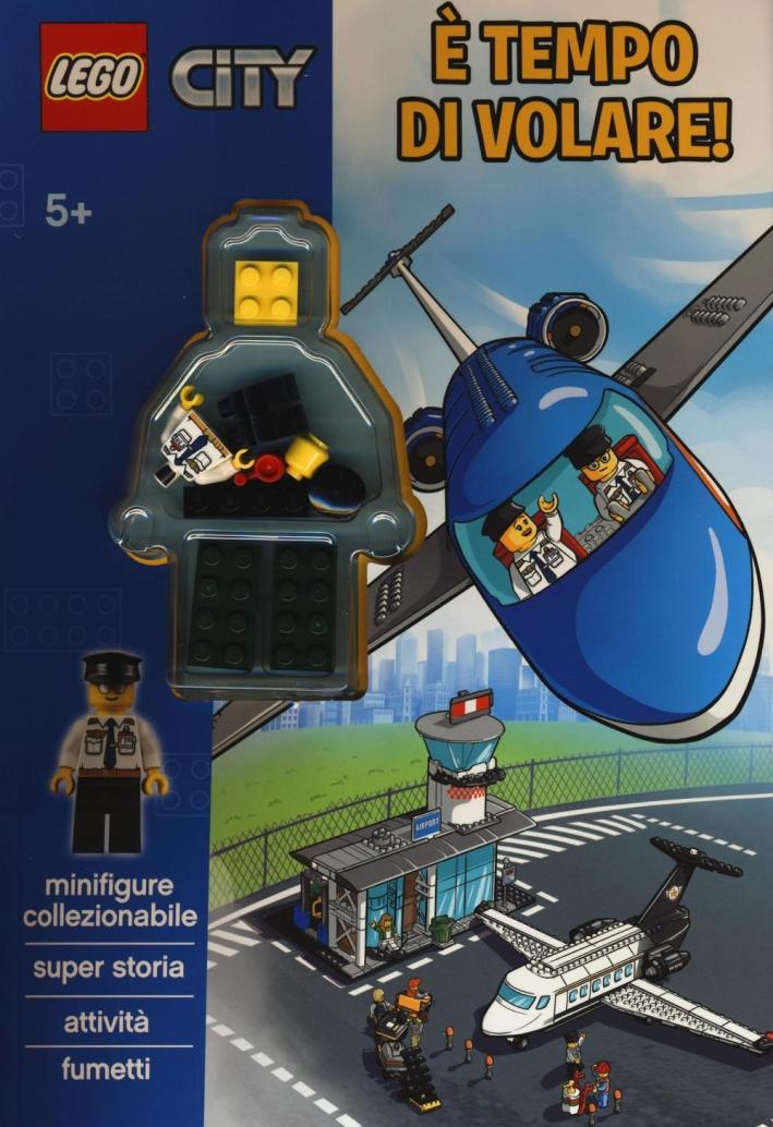 È tempo di volare. Lego City. Ediz. illustrata. Con gadget