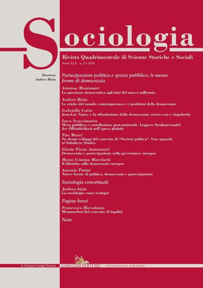 Sociologia (2016). Vol. 2.
