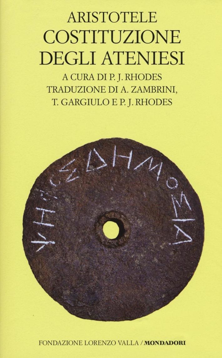 Costituzione degli ateniesi.