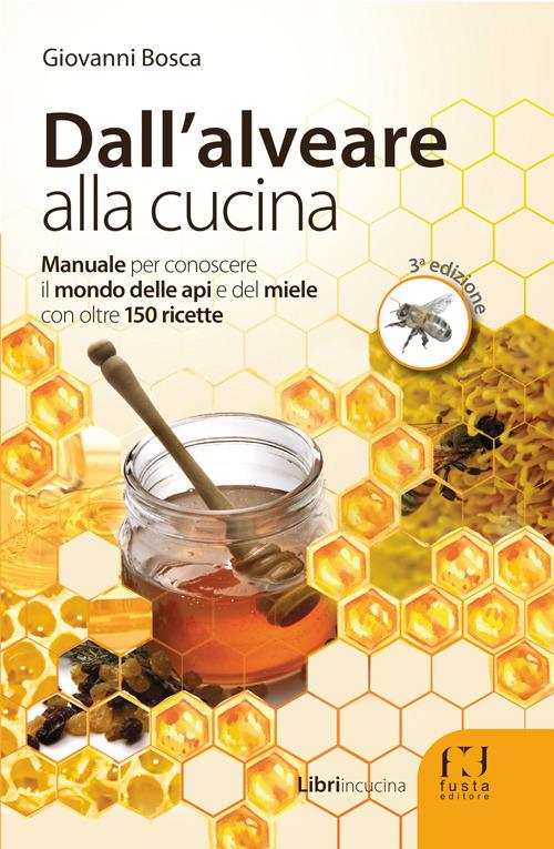 Il miele nel piatto.