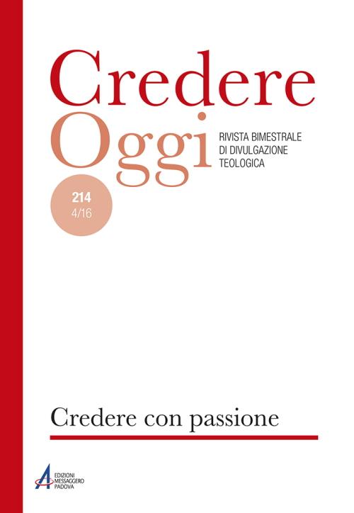 Credereoggi. Vol. 214: Ospitalità.