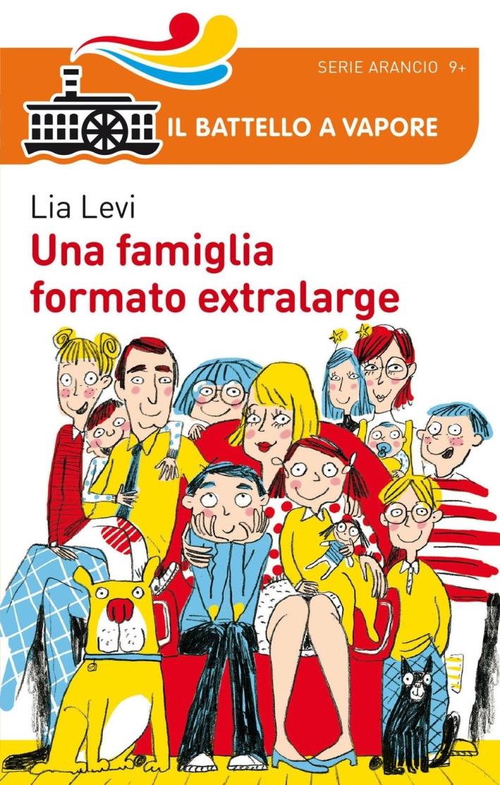 Una famiglia formato extralarge.