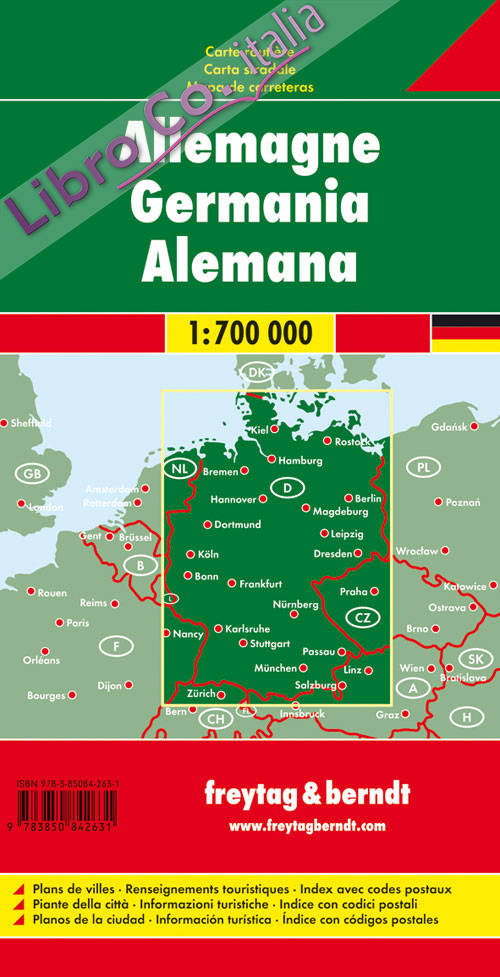 Germania 1:700.000.