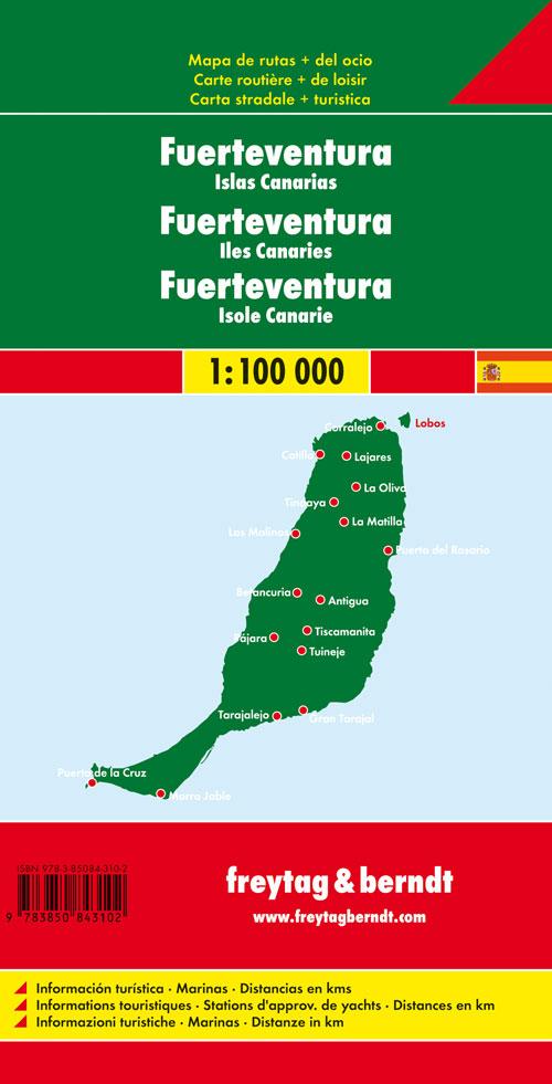 Fuerteventura 1:100.000.