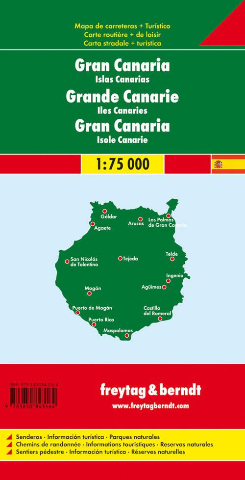 Gran Canaria 1:75.000.