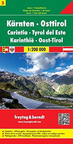 Kärnten Osttirol 1:200.000