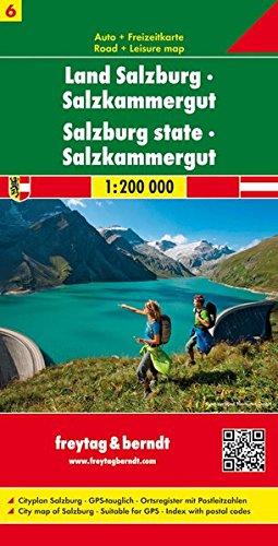 Land Salzburg Salzkammergut 1:200.000.