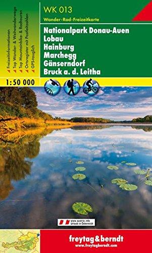 Nationalpark Donau-Auen, Lobau, Hainburg, Marchegg, Gänserndorf, a.d. Leitha 1:50.000