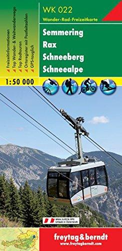Semmering, Rax, Schneeberg, Schneealpe 1:50.000