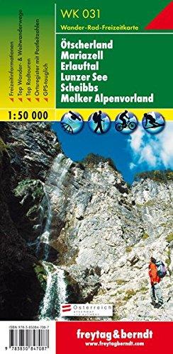 Ötscherland, Mariazell, Erlauftal, Lunzer See, Scheibbs, Melker Alpenvorland 1:50.000.