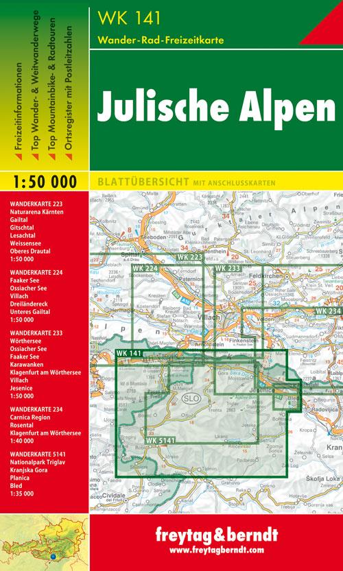 Alpi Giulie 1:50.000.
