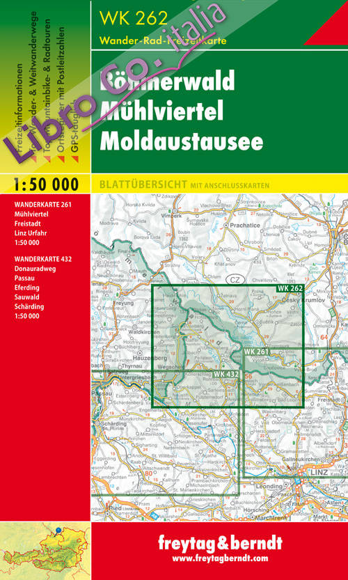 Bohmerwald 1:50.000