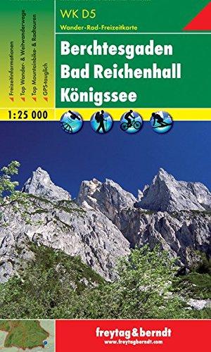 Berchtesgaden, Bad Reichenhall, Königssee 1:25.000