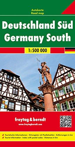 Germania sud 1:500.000