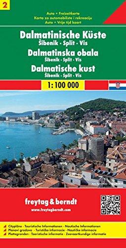 Costa Dalmata 2 1:100.000