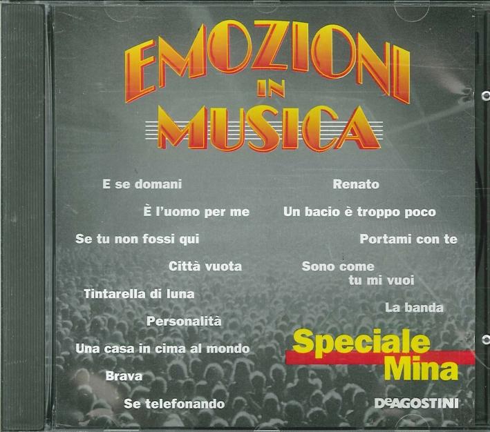 Emozioni in Musica - Speciale Mina CD.